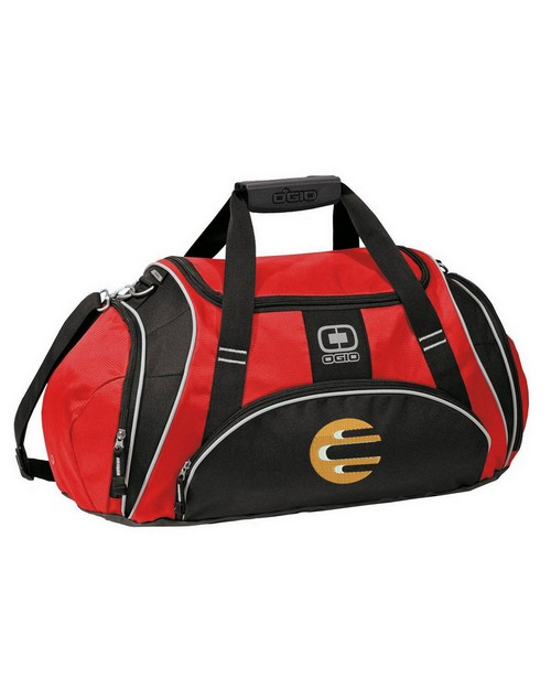 Ogio Logo Embroidered Crunch Duffel Bag