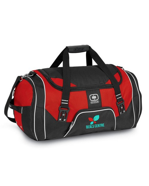 Ogio Logo Embroidered Rage Duffel Bag