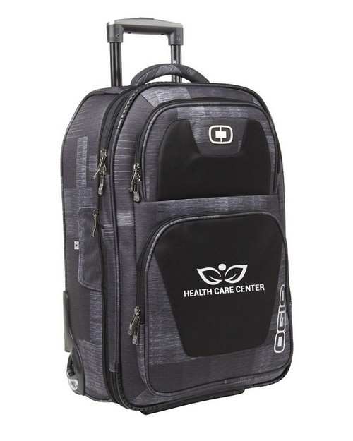 Ogio Custom Logo Embroidered Kickstart Travel Bag