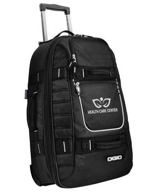 Logo Embroidered Logo Embroidered Ogio Pull Through Travel Bag