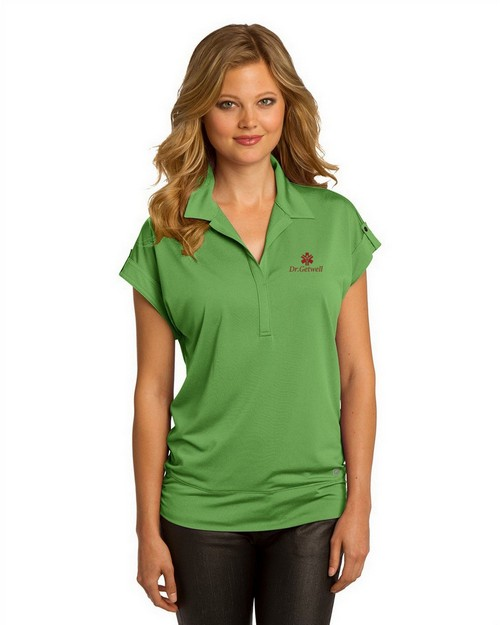 Ogio Logo Embroidered Leveler Polo Shirt - For Women