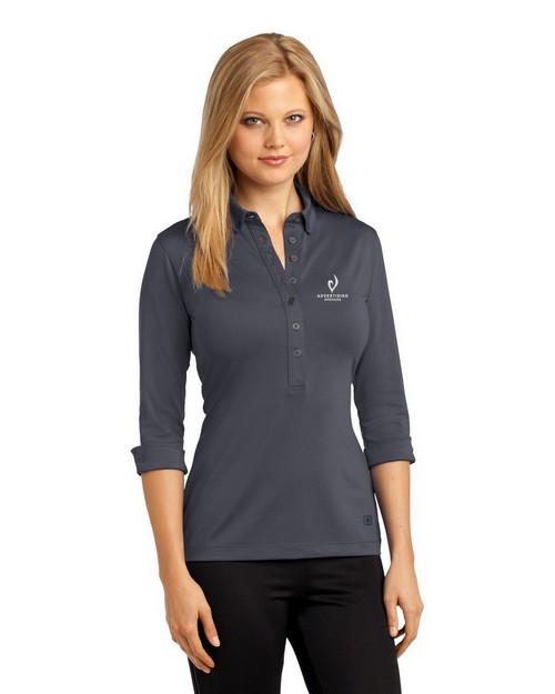 Ogio Gauge Polo Shirt - For Women - Logo Embroidered