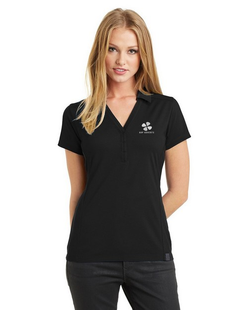 Ogio Logo Embroidered Framework Polo Shirt - For Women