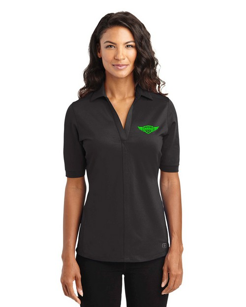 Ogio Custom Logo Embroidered Metro Polo Shirt - For Women