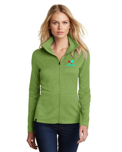 Logo Embroidered Ogio Pixel Full Zip Jacket - For Women