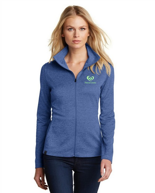 Logo Embroidered Logo Embroidered Ogio Pixel Full Zip Jacket - For Women