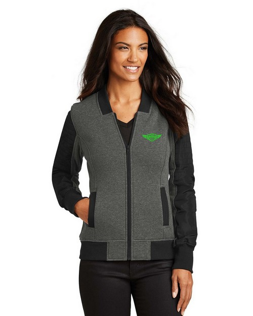 Ogio Logo Embroidered Crossbar Jacket - For Women