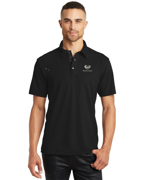 Ogio Logo Embroidered Accelerator Polo Shirt - For Men