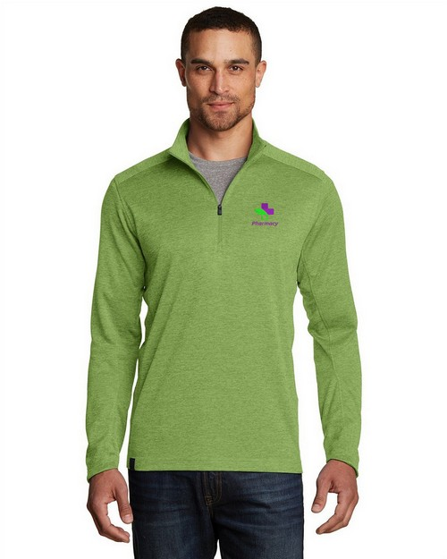 Ogio Logo Embroidered Pixel 1/4 Zip Jacket - For Men