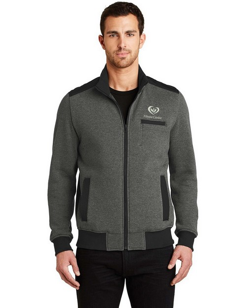 Ogio Logo Embroidered Crossbar Jacket  - For Men