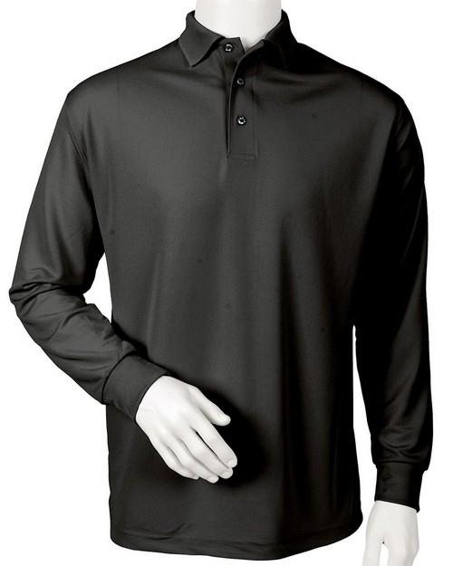 Paragon 110 Mens Long Sleeve Performance Polo