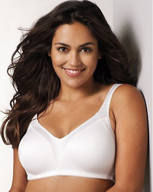 Playtex 4E77 18 Hour Back Smoother Wirefree Bra