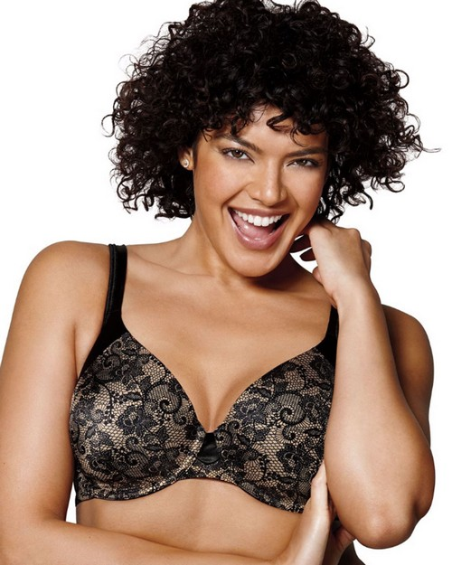 Playtex US4848 Love My Curves T-Shirt Underwire Bra