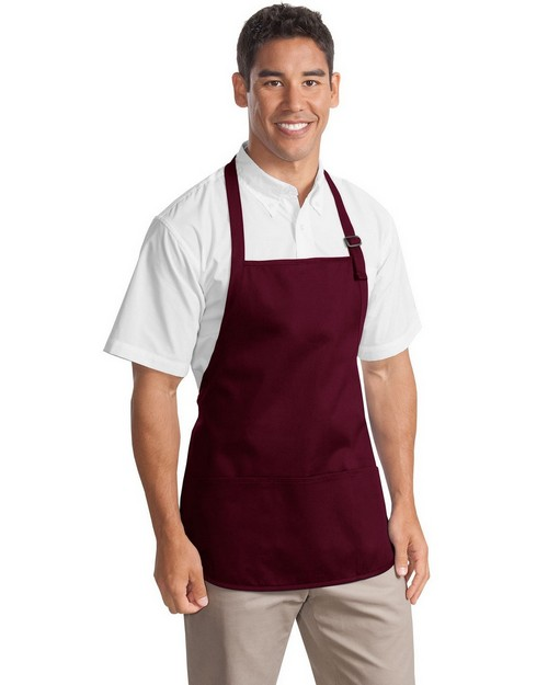 Port Authority A510 Medium Length Apron with Pouch Pockets