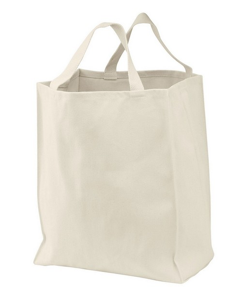 Port Authority B1000RG 100% Organic Cotton Grocery Tote