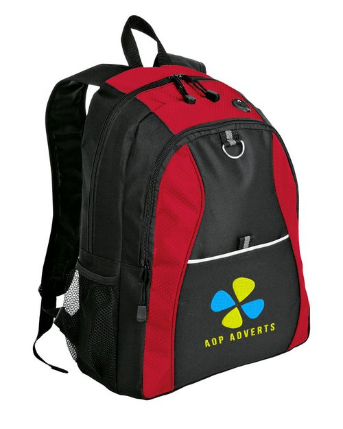 Port Authority BG1020 Port & Company Improved Contrast Honeycomb Backpack