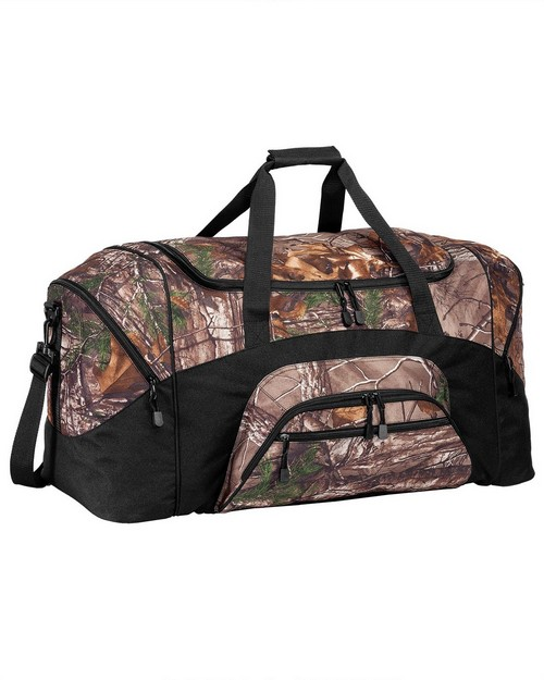 Port Authority BG99C Camouflage Colorblock Sport Duffel