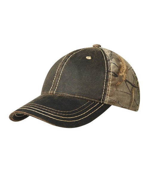 Port Authority C819 Pigment Dyed Camouflage Cap