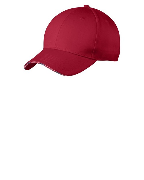 Port Authority C829 Americana Flag Sandwich Cap