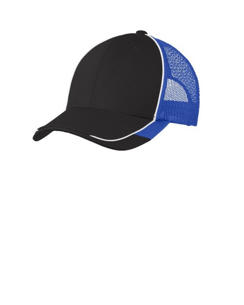 Port Authority C904 Colorblock Mesh Back Cap