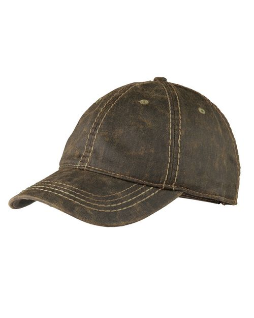 Port Authority C924 Pigment Print Distressed Cap