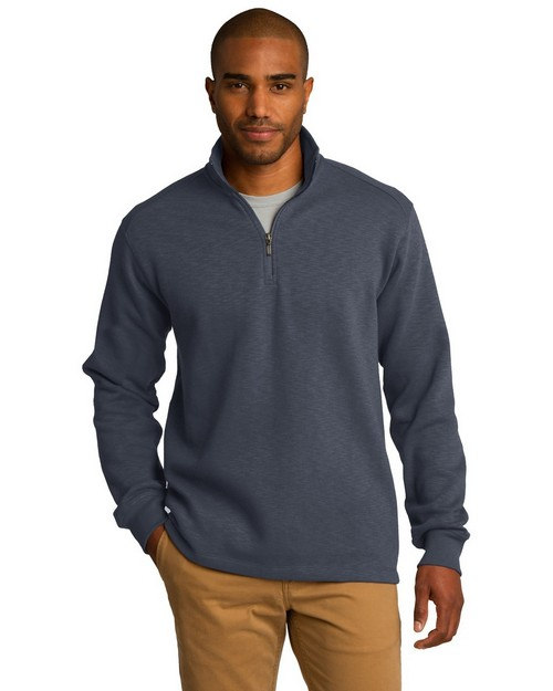 Port Authority F295 Slub Fleece Pullover
