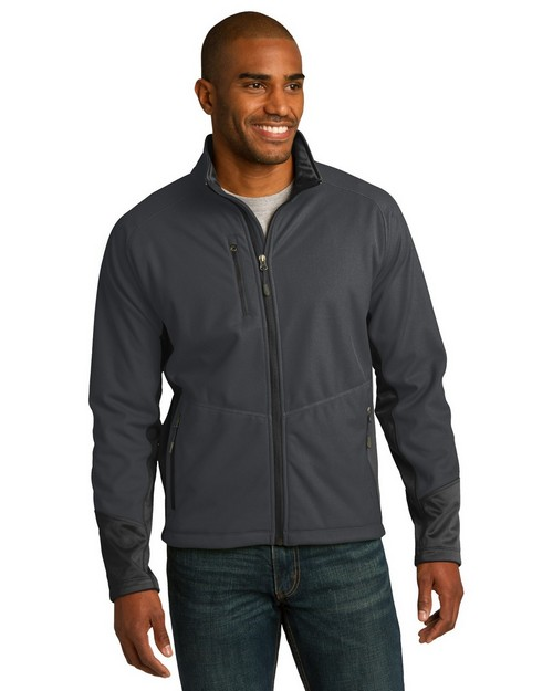 Port Authority J319 Vertical Soft Shell Jacket
