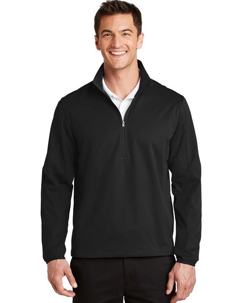 Port Authority J716 Active 1/2-Zip Soft Shell Jacket