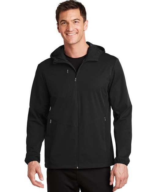 Port Authority J719 Active Hooded Soft Shell Jacket