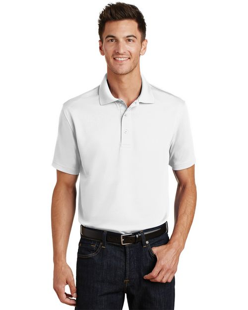 Port Authority K497 Poly-Bamboo Blend Pique Polo