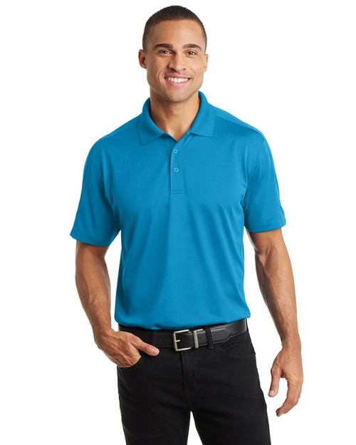Port Authority K569 Diamond Jacquard Polo Shirt