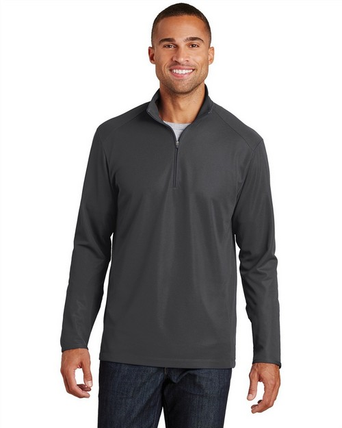 Port Authority K806 Pinpoint Mesh 1/2-Zip