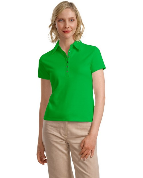 Port Authority L449 Signature Ladies Pima Cotton Fine Knit Polo Shirt