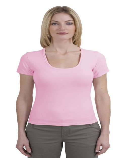 Port Authority L483 Ladies Seabreeze Scoop Neck Tee