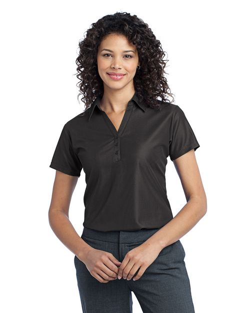 Port Authority L512 Ladies Vertical Pique Sport Shirt