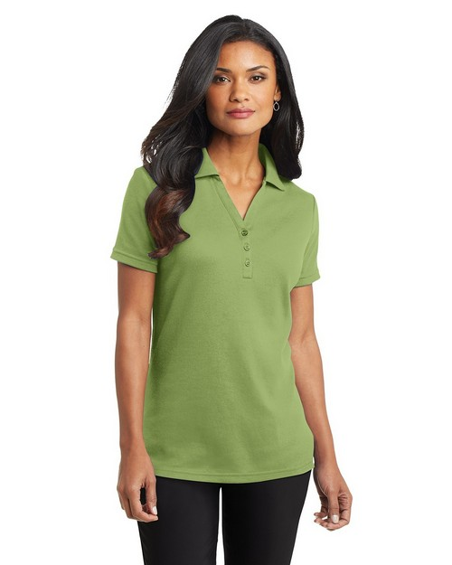 Port Authority L520 Ladies Silk Touch Interlock Polo