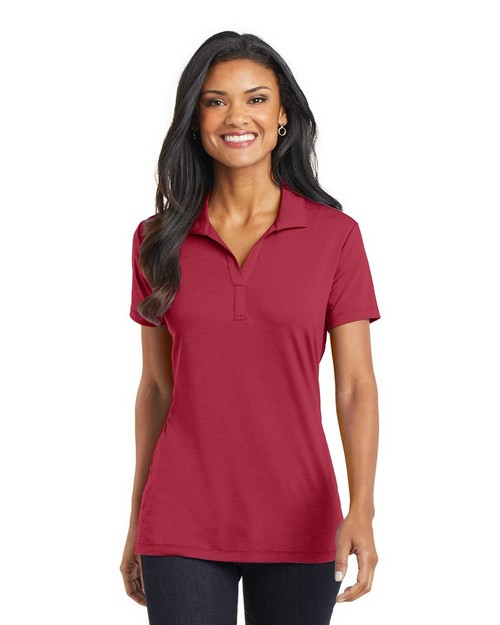 Port Authority L568 Ladies Cotton Touch Performance Polo Shirt