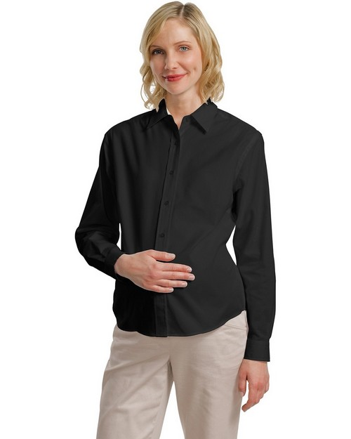 Port Authority L608M Maternity Long Sleeve Easy Care Shirt