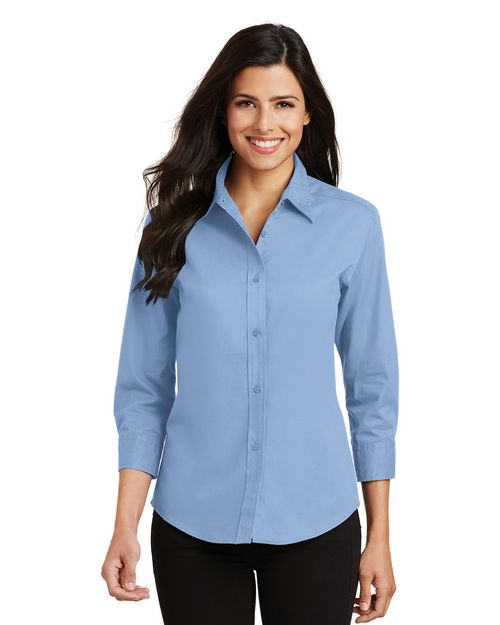 Port Authority L612 Ladies 3/4-Sleeve Easy Care Shirt