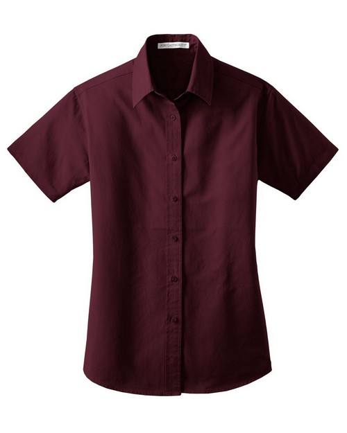 Port Authority L635 Ladies Short Sleeve Value Cotton Twill Shirt