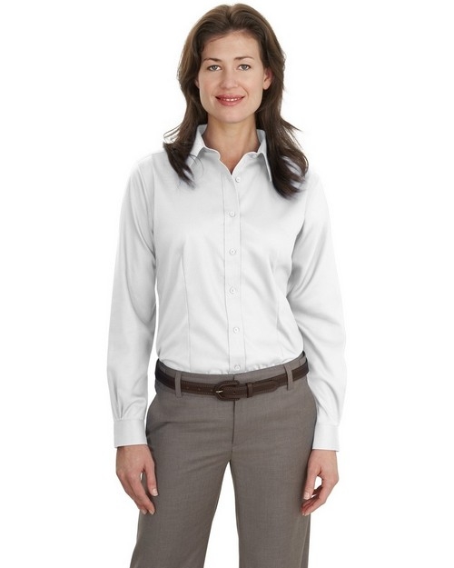 Port Authority L638 Ladies Long Sleeve Non-Iron Twill Shirt