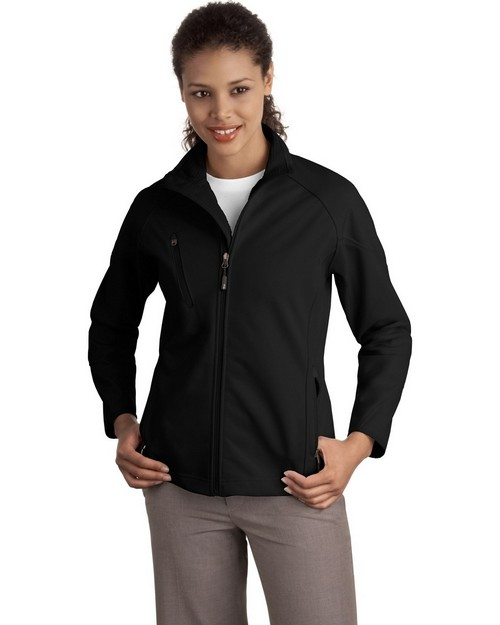Port Authority L705 Ladies Textured Soft Shell Jacket