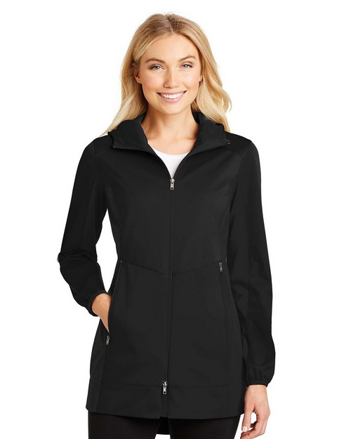 Port Authority L719 Ladies Active Hooded Soft Shell Jacket