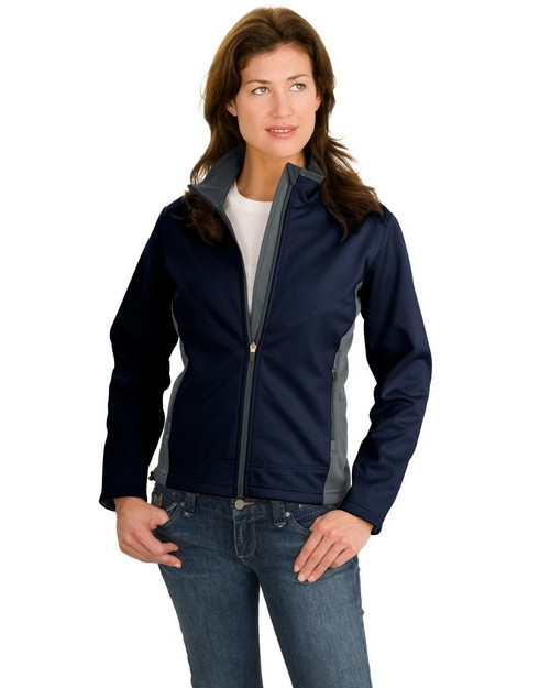 Port Authority L794 Ladies Two-Tone Soft Shell Jacket