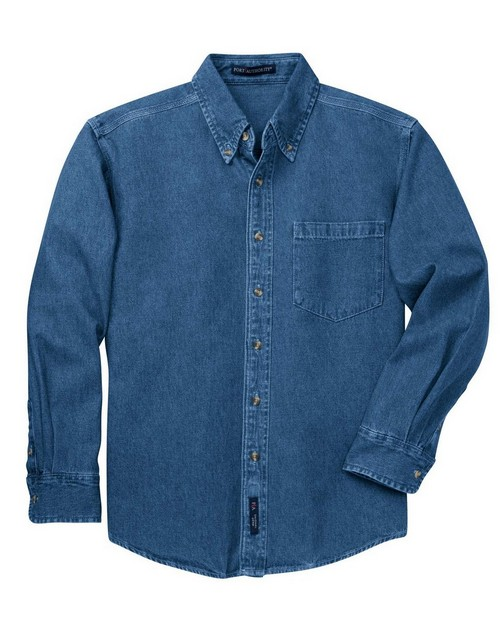 Port Authority S100 Heavyweight Denim Shirt