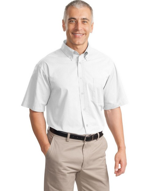Port Authority S635 Short Sleeve Value Cotton Twill Shirt