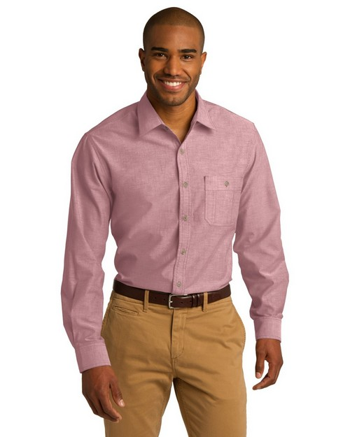 Port Authority S653 Chambray Shirt