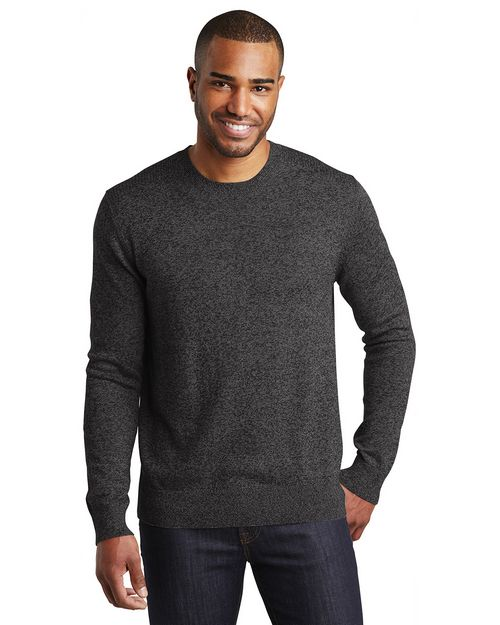 Port Authority SW417 Marled Crew Sweater