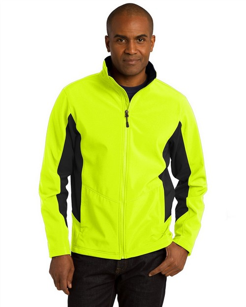 Port Authority TLJ318 Tall Core Colorblock Soft Shell Jacket