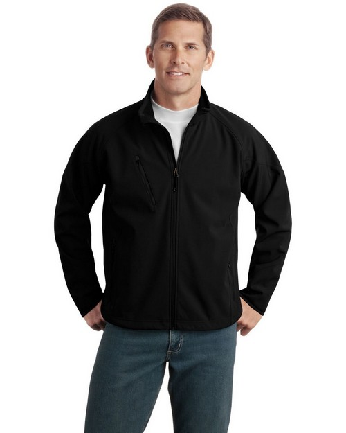 Port Authority TLJ705 Tall Textured Soft Shell Jacket